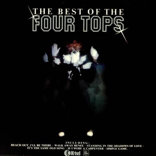 The Four Tops The Best Of vinyl LP album (LP record) UK FTPLPTH421202
