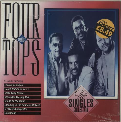 The Four Tops The Singles Collection vinyl LP album (LP record) UK FTPLPTH685363