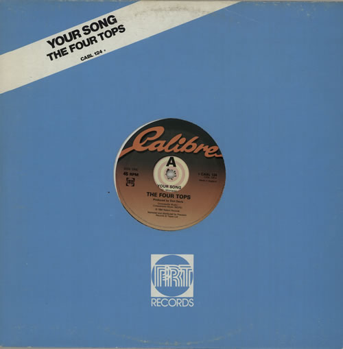"The Four Tops Your Song 12"" vinyl single (12 inch record / Maxi-single) UK FTP12YO572571"