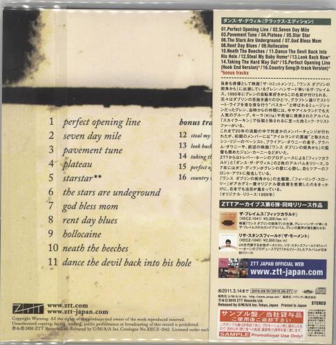 The Frames Dance The Devil… Japanese Promo CD album (CDLP) (701787)