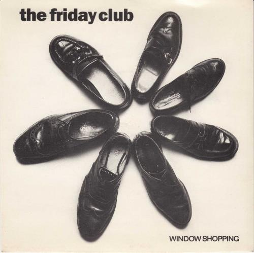 "The Friday Club Window Shopping - P/S 7"" vinyl single (7 inch record) UK WRF07WI624536"