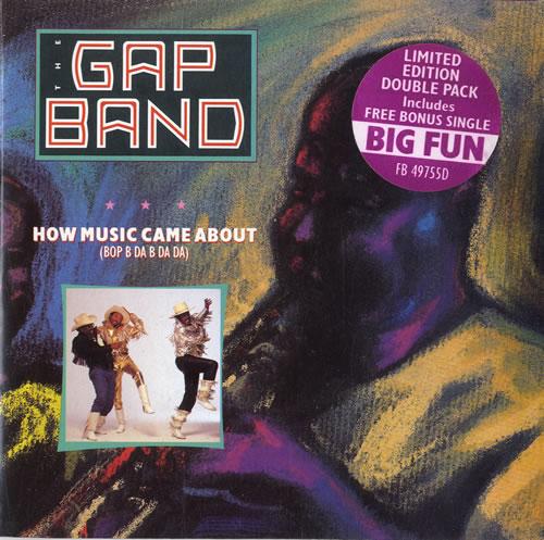 """The Gap Band How Music Came About (Bop B Da B Da Da) 7"""" vinyl single (7 inch record) UK GAP07HO578545"""