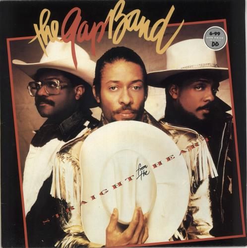 The Gap Band Straight From The Heart vinyl LP album (LP record) UK GAPLPST726367
