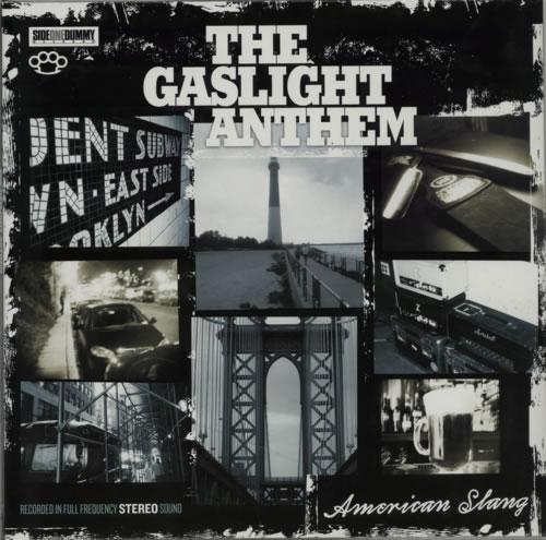 The Gaslight Anthem American Slang vinyl LP album (LP record) UK T6GLPAM509867