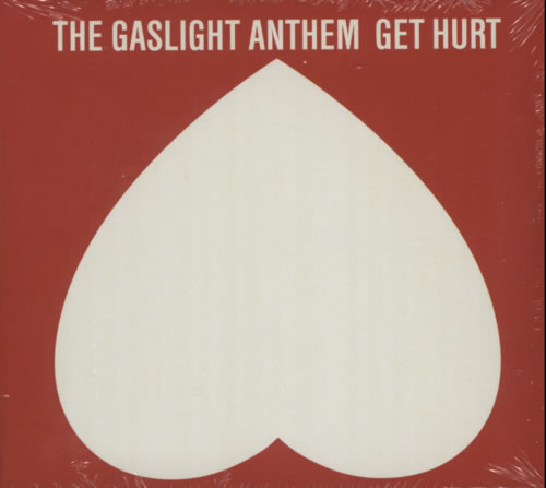 The Gaslight Anthem Get Hurt - Deluxe Edition - Sealed CD album (CDLP) UK T6GCDGE617323