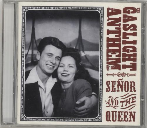 """The Gaslight Anthem Senor And The Queen CD single (CD5 / 5"""") UK T6GC5SE693950"""