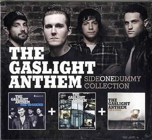 The Gaslight Anthem Side One Dummy Collection 3-CD album set (Triple CD) UK T6G3CSI628761