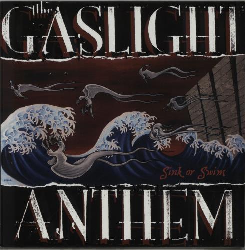 The Gaslight Anthem Sink Or Swim - Clear / Multi-Coloured Speckled Vinyl vinyl LP album (LP record) German T6GLPSI652269