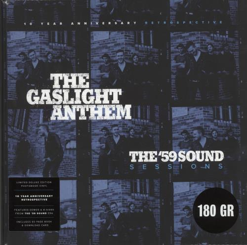The Gaslight Anthem The '59 Sound Sessions - 180gm Vinyl + Photobook vinyl LP album (LP record) UK T6GLPTH704256
