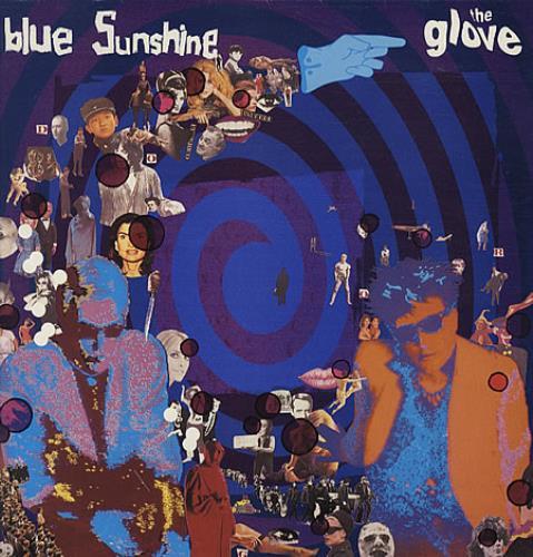 The Glove Blue Sunshine + Inner vinyl LP album (LP record) UK GLOLPBL02236