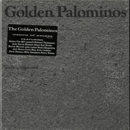 The Golden Palominos Visions Of Excess vinyl LP album (LP record) US GLPLPVI522835