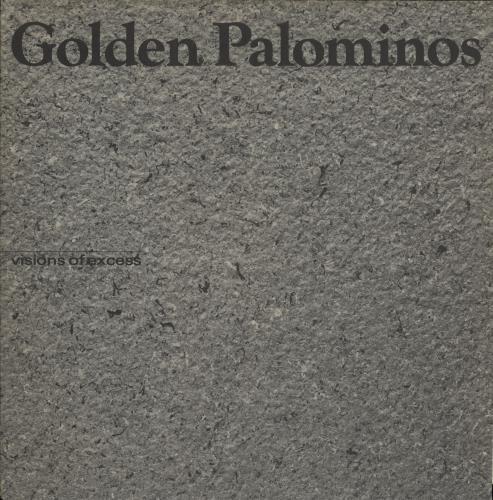 The Golden Palominos Visions Of Excess vinyl LP album (LP record) US GLPLPVI708151