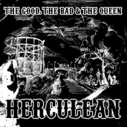 "The Good, The Bad And The Queen Herculean 7"" vinyl single (7 inch record) UK TUQ07HE376830"