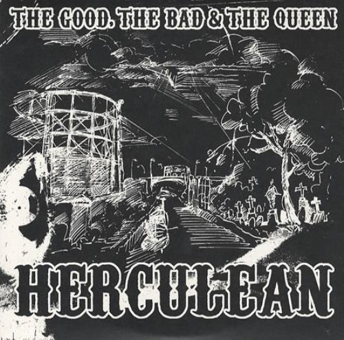 """The Good, The Bad And The Queen Herculean CD single (CD5 / 5"""") UK TUQC5HE381677"""