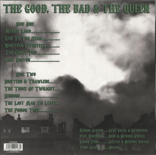 The Good, The Bad And The Queen Merrie Land - 180gram Green Vinyl - Sealed vinyl LP album (LP record) UK TUQLPME708408