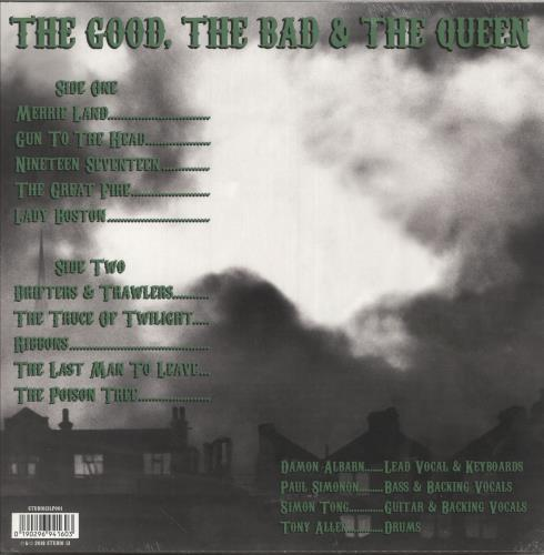 The Good, The Bad And The Queen Merrie Land - 180gram Vinyl - Sealed vinyl LP album (LP record) UK TUQLPME748423