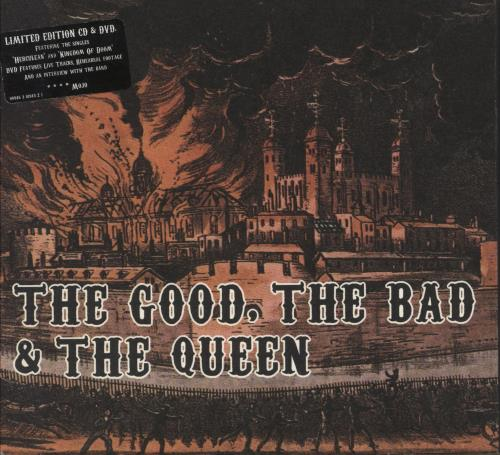The Good, The Bad And The Queen The Good, The Bad And The Queen 2-disc CD/DVD set UK TUQ2DTH383880