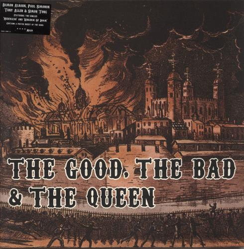 The Good, The Bad And The Queen The Good, The Bad And The Queen vinyl LP album (LP record) UK TUQLPTH383882
