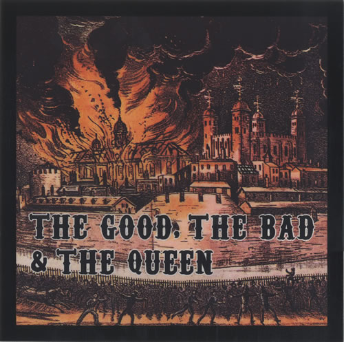 The Good, The Bad And The Queen The Good, The Bad And The Queen display US TUQDITH500015
