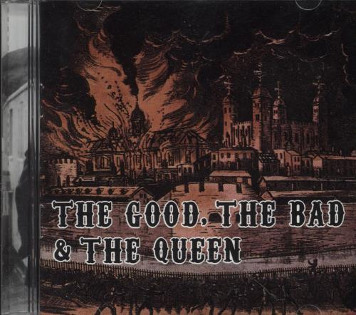 The Good, The Bad And The Queen The Good, The Bad And The Queen CD album (CDLP) Philippino TUQCDTH747015
