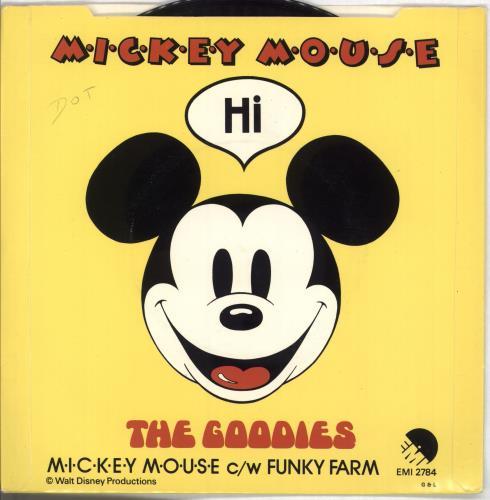 "The Goodies M-I-C-K-E-Y M-O-U-S-E 7"" vinyl single (7 inch record) UK GNI07MI707523"