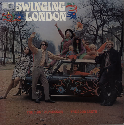 The Good Earth Swinging London vinyl LP album (LP record) UK V7GLPSW638895
