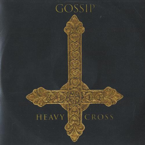 The Gossip Heavy Cross CD-R acetate UK F4TCRHE493645