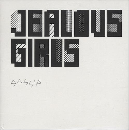 "The Gossip Jealous Girls CD single (CD5 / 5"") UK F4TC5JE395982"