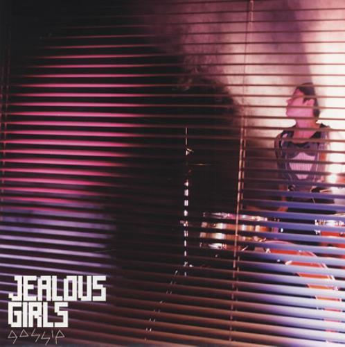 "The Gossip Jealous Girls 7"" vinyl single (7 inch record) UK F4T07JE411661"