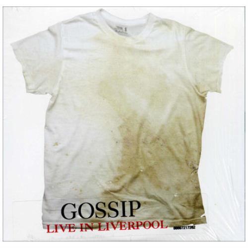 The Gossip Live In Liverpool CD album (CDLP) Australian F4TCDLI421456