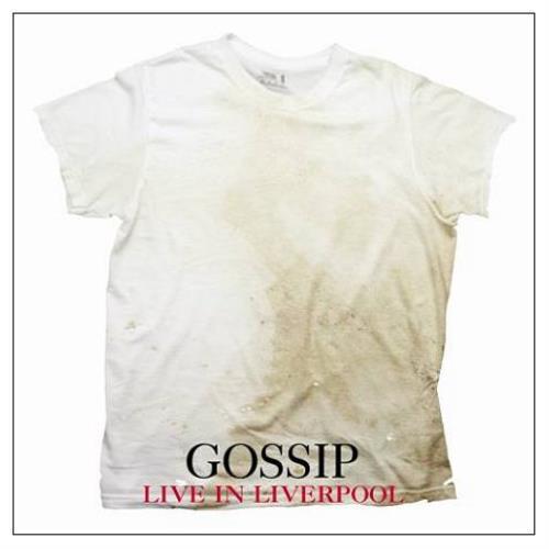 The Gossip Live In Liverpool 2-disc CD/DVD set UK F4T2DLI430866