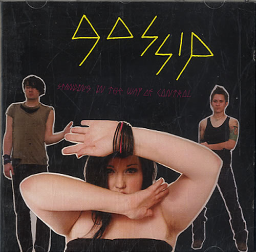 The Gossip Standing In The Way Of Control CD album (CDLP) UK F4TCDST395936