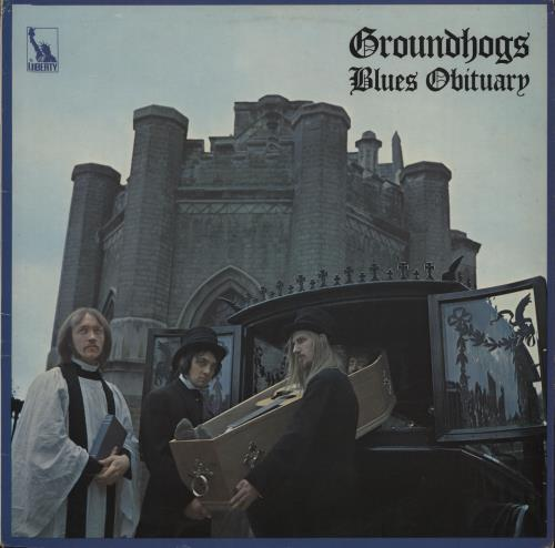 The Groundhogs Blues Obituary - Black Liberty vinyl LP album (LP record) UK GHGLPBL527662