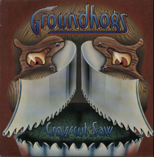 The Groundhogs Crosscut Saw vinyl LP album (LP record) UK GHGLPCR595435