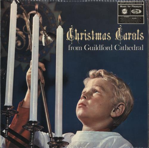 The Guildford Cathedral Choir Christmas Carols From Guildford Cathedral vinyl LP album (LP record) UK Y5-LPCH710293
