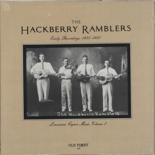 The Hackberry Ramblers Early Recordings 1935-1948 - Sealed vinyl LP album (LP record) US YZXLPEA712276
