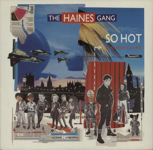 "The Haines Gang So Hot 12"" vinyl single (12 inch record / Maxi-single) UK U0F12SO524312"