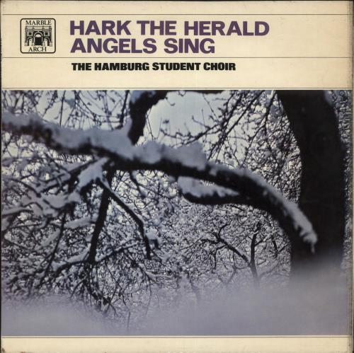 The Hamburg Student Choir Hark! The Herald Angels Sing vinyl LP album (LP record) UK YMVLPHA710292