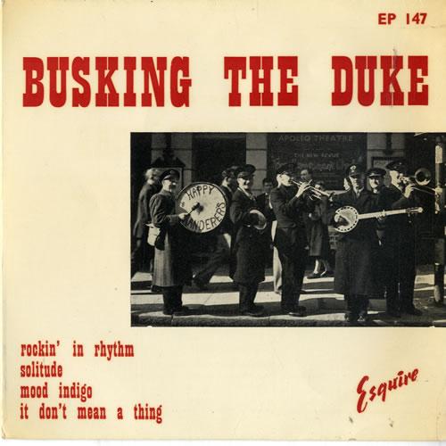 "The Happy Wanderers Street Band Busking The Duke EP 7"" vinyl single (7 inch record) UK WNK07BU604104"