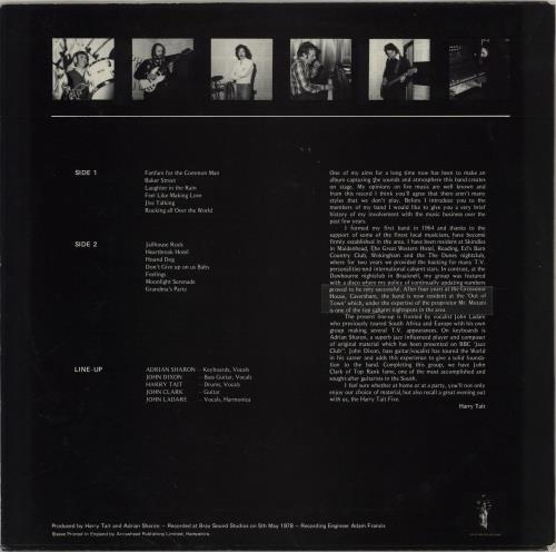 The Harry Tait Five Impressions vinyl LP album (LP record) UK 2SJLPIM764390