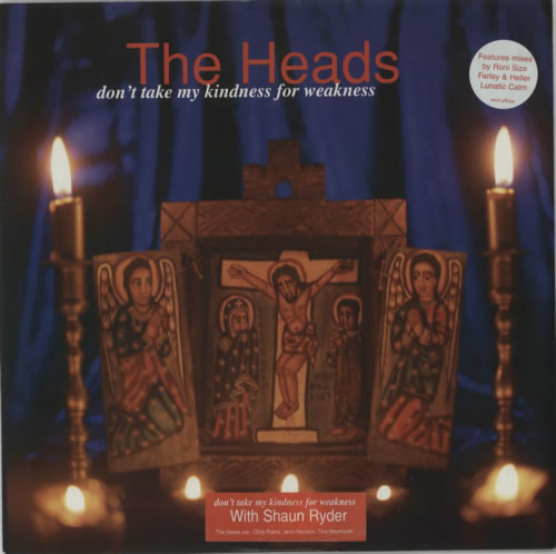 """The Heads Don't Take My Kindness For Weakness 12"""" vinyl single (12 inch record / Maxi-single) UK T-H12DO500011"""