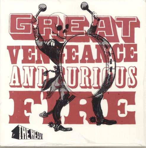The Heavy Great Vengeance And Furious Fire - 1st vinyl LP album (LP record) UK Y1YLPGR704337