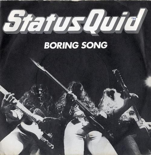 "The HeeBeeGeeBees Boring Song 7"" vinyl single (7 inch record) UK EE307BO609780"