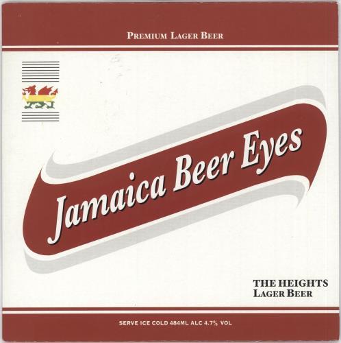 "The Heights Jamaica Beer Eyes 7"" vinyl single (7 inch record) UK T3007JA718321"