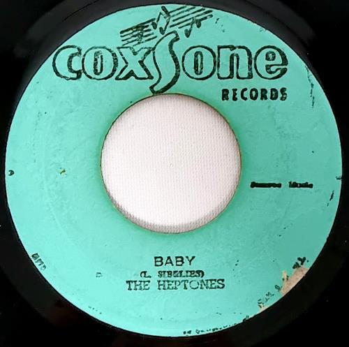 "The Heptones Baby 7"" vinyl single (7 inch record) Jamaican HPT07BA687778"