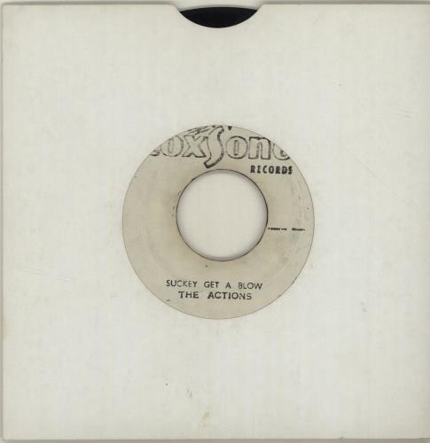 "The Heptones Choice Of Colour / Suckey Get A Blow 7"" vinyl single (7 inch record) Jamaican HPT07CH687783"
