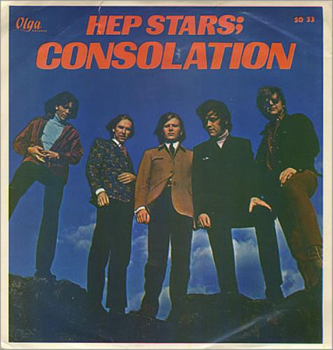 "The Hep Stars Consolation 7"" vinyl single (7 inch record) Swedish HEP07CO369740"