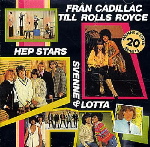 The Hep Stars Fran Cadillac Till Rolls Royce CD album (CDLP) Swedish HEPCDFR302124