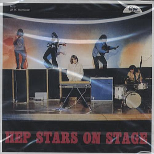 The Hep Stars On Stage! CD album (CDLP) Swedish HEPCDON75421
