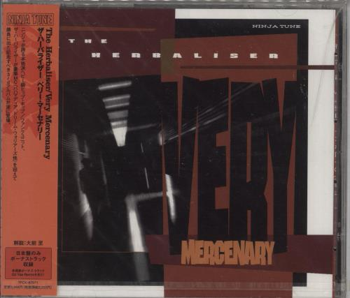The Herbalizer Very Mercenary - Sealed CD album (CDLP) Japanese YXZCDVE723328